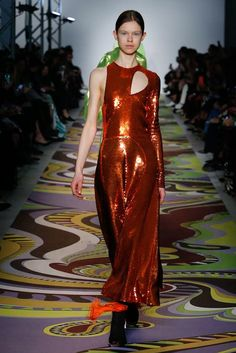 See the complete Emilio Pucci Fall 2017 Ready-to-Wear collection.