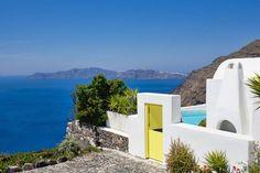 Architect's house in Santorini