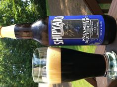 Beer Review: Shipyard Brewing Co., Smashed Blueberry #ShipyardBeer