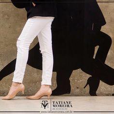 Scarpin Tatiane Moreira Nude salto médio um clássico para todas as mulheres você encontra em nossa loja virtual www.tatianemoreira.com.br ™
