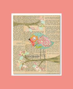 Baby Girl Nursery Prints NURSERY ART PRINTS French by LittleMonde, $16.00