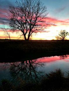 Montana sunset Montana, River, Celestial, Adventure, Sunset, Nature, Outdoor, Outdoors, Flathead Lake Montana