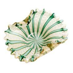 Italian Murano Glass cane Dish