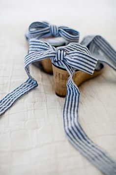 navy blue and white striped