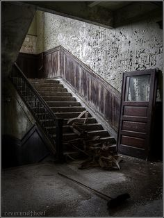 The long forgotten stairway.