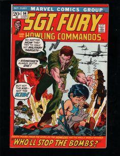SGT. FURY #94, NICK FURY, AVENGERS, MARVEL COMICS (NICE COPY)