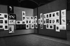 Room with works by László Moholy-Nagy at the 1929 FiFo exhibition in Berlin.