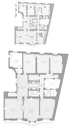 plan appartement parisien