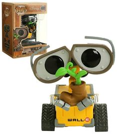 Disney Wall-E - Earth Day Special Release - BoxLunch Exclusive Import - New, Mint Condition - Funko Film Disney, Disney Pop, Disney Pixar, Wall E, Custom Funko Pop, Funko Pop Vinyl, Les Muppets, Best Funko Pop, Funko Pop Dolls