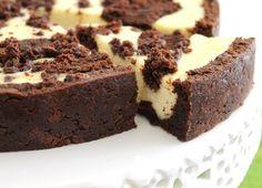 Cheesecake de brownie.