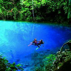 Blue Hole Espiritu Santo, Vanuatu-one of my favorite memories!