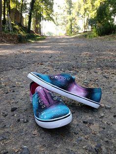 Make It, Love It DIY: Galaxy Shoes
