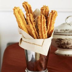 Paula's Cheese Straws Recipe - Paula Deen via Good Housekeeping. I can't even admit how many I ate of these in one sitting.