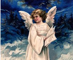 Vintage French Angel Download – Gorgeous!