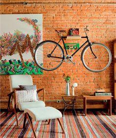 suporte de madeira para bicicleta - Pesquisa Google