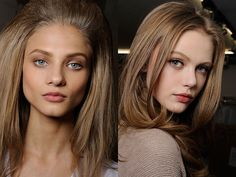 Light brown hair color - Glam Bistro