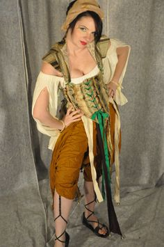 Taja Gypsy renaissance costume by OpenPandorasCloset on Etsy, $250.00