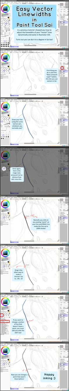 Paint Tool SAI Tutorial