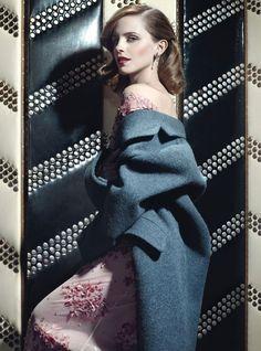 Emma Watson en W Magazine Junio/Julio 2013