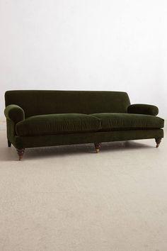 Willoughby Sofa, Hickory - anthropologie.com
