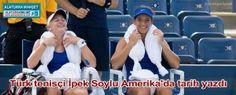 Türk tenisçi İpek Soylu, ABD Açık Tenis Turnuvası'nda genç çift bayanlar kategorisinde partneri Teichmann ile birlikte şampiyon oldu.
