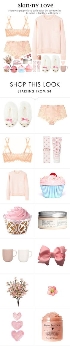 """Come on skinny love just last the year"" by annaclaraalvez ❤ liked on Polyvore featuring Forever 21, La Perla, Agent Provocateur, Cath Kidston, Golden Goose, Wilton, H&M, iittala, Clips and Victoria's Secret"