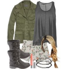 """Malia Inspired Date Outfit"" by veterization on Polyvore"