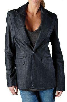 True Religion Brand Jeans Women's Blazer Jacket Coat