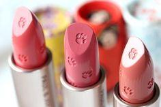 Lipstick with prints.