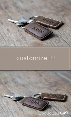 Customizable leather keychain with a name, initials, monogram and/or a significant date, phrase, word, etc. This listing is for one leather keychain. Personalization can be done on either side of the keychain! Please let me know placement during checkout. This item is perfect as a wedding favor or stocking stuffer.