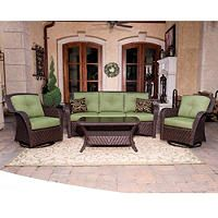 Cilantro Newport Deep Seating Outdoor Set - 4 pc. - Sam's Club