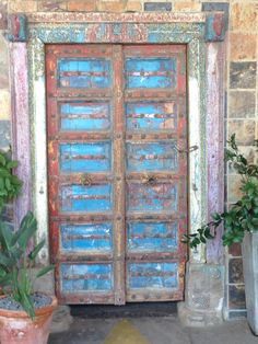 Old door, Parys, Orange Free State, South Africa. Uploaded by Urma