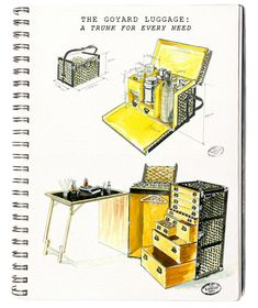 Sketches from Goyard