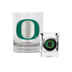 Oregon Ducks 2-pc. Rocks Glass and Shot Glass Set, Multicolor, Durable