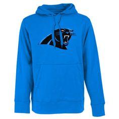 c95d3e0d3 Antigua Carolina Panthers Signature Pullover Hoodie - Panther Blue. Carolina  Panthers GearNfl ...