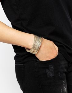 ALDO Adrolia Multi Metal Bangle
