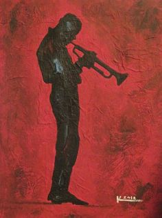 Trumpet Man, by Ken Joslin
