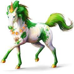 Winged unicorn Purebred Spanish Horse Dapple Gray