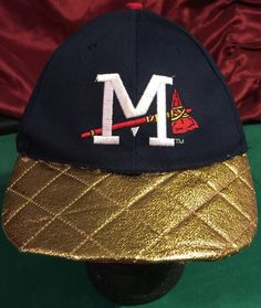 d811e5acac4 Milwaukee Braves Vintage Custom Snapback Cap by CoryCranksOutHats on Etsy  Other Accessories