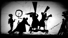 William Kentridge, The Refusal of Time with collaboration of Philip Miller, Catherine Meyburgh and Peter Galison Film Still 2012 5-channel video projection, colour, sound, megaphones, breathing machine 30 minutes Courtesy William Kentridge, Marian Goodman Gallery, Goodman Gallery and Lia Rumma Gallery