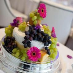 Cheese board wedding cake
