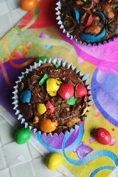 brownies au M&Ms 5