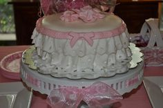 Girlie lace cake by christylacy, via Flickr