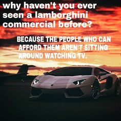And it's NOT about the car! It's about PRIORITIES! What are yours? #success #motivational #driven #quotes