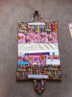 Craft tote: this would be good to take to recess for those little artists!