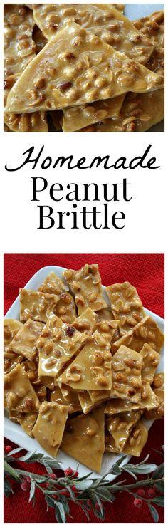 Homemade Peanut Brittle Recipe