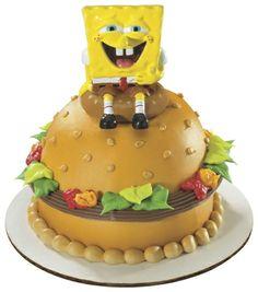 Spongebob Squarepants Krabby Patty Petite Decoset ~ Cake Topper ^^ You will love this! More info here : Decorating Tools Fun Cupcakes, Cupcake Cookies, Spongebob Birthday Party, 2nd Birthday, Birthday Ideas, Prince Birthday, Birthday Stuff, Crabby Patties, Cake Decorating Kits
