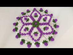 Tomurcuk Çiçekli Yuvarlak Lif Modeli Yapımı - YouTube Crochet Videos, Doilies, Crochet Necklace, Felt, Youtube, Flowers, Crafts, Stuff To Buy, Blanket