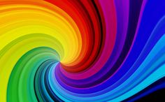 rainbow swirl abstract background