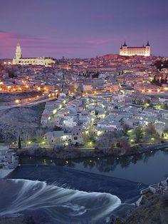 Toledo, Spain-A famous medieval city near Madrid on the Tajo River.